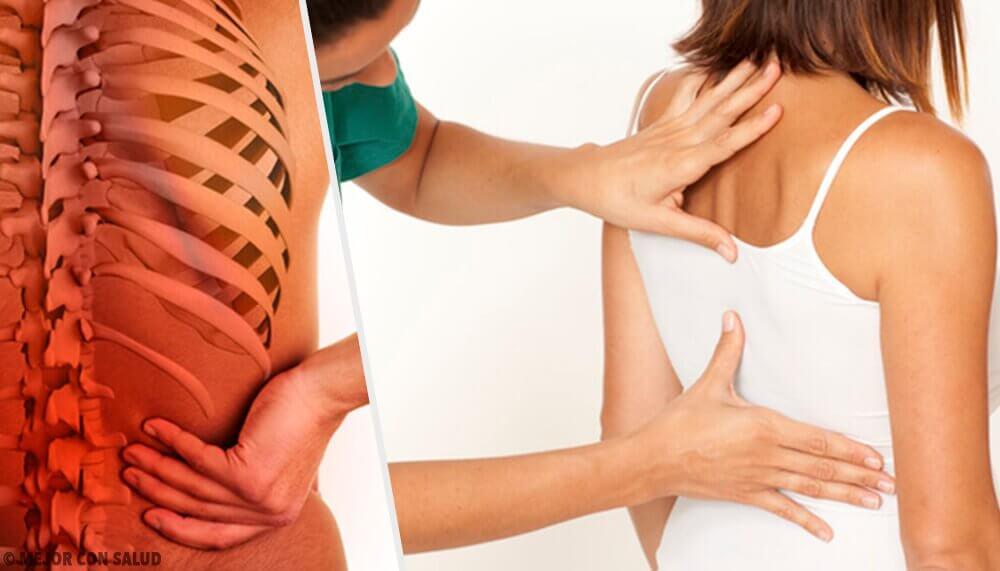 ストレスが原因で起こる脊柱の痛み
