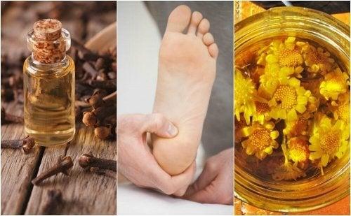 かかとの痛みを和らげる6つの自然療法