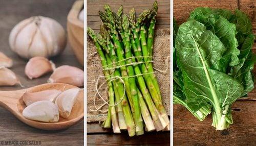 アレルギーの原因になる8つの野菜