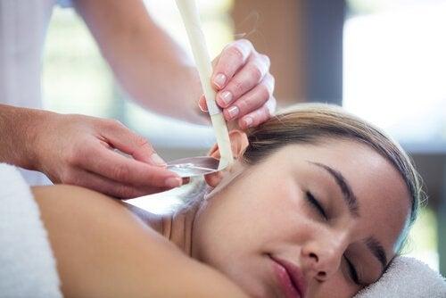 ホピ・イヤーキャンドル 耳の自然療法