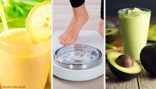 ダイエットに効果抜群なドリンクのレシピ5種