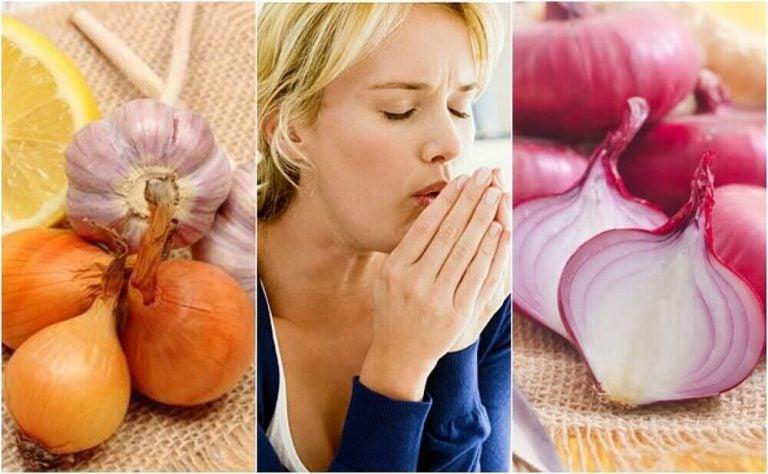 玉ねぎを使って咳と闘う方法