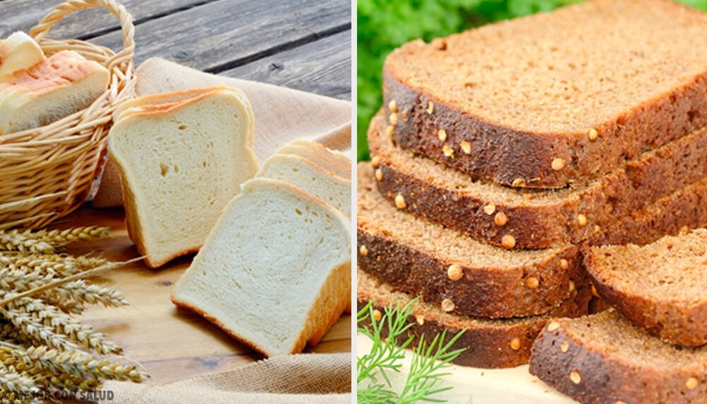 白いパンと全粒粉のパン、どちらが良い?