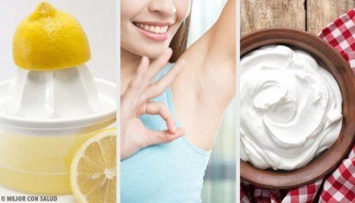 肌のシミを対処する自家製治療法