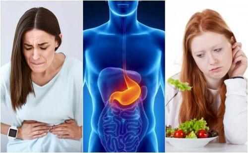 胃潰瘍:8つの不快な症状