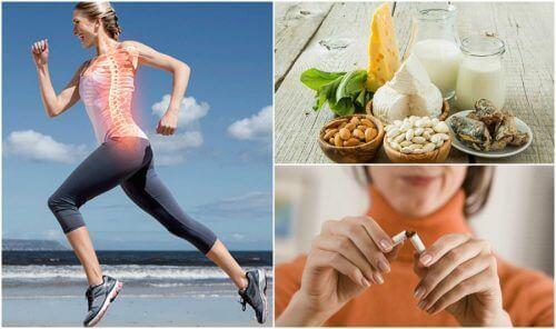 骨粗しょう症を防ぐ7つの習慣