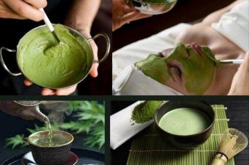 緑茶マスク