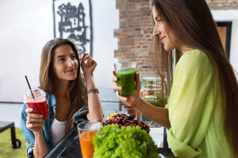 スムージーを食生活に加えることの健康効果