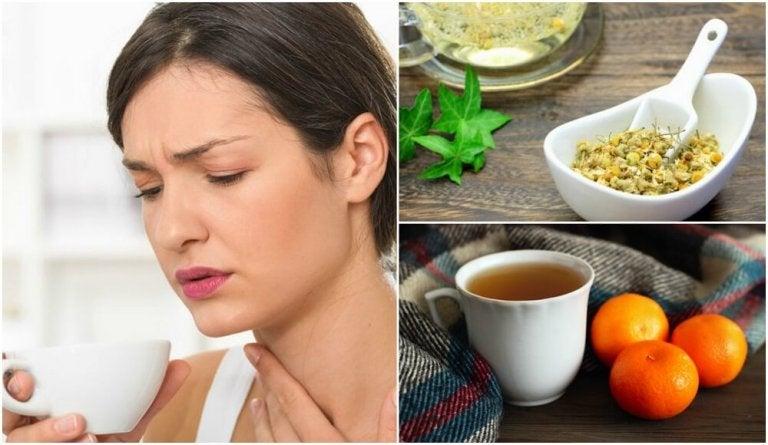 みかんの皮、セイヨウカノコソウの根、カモミールを使ったお茶で神経を落ち着かせよう