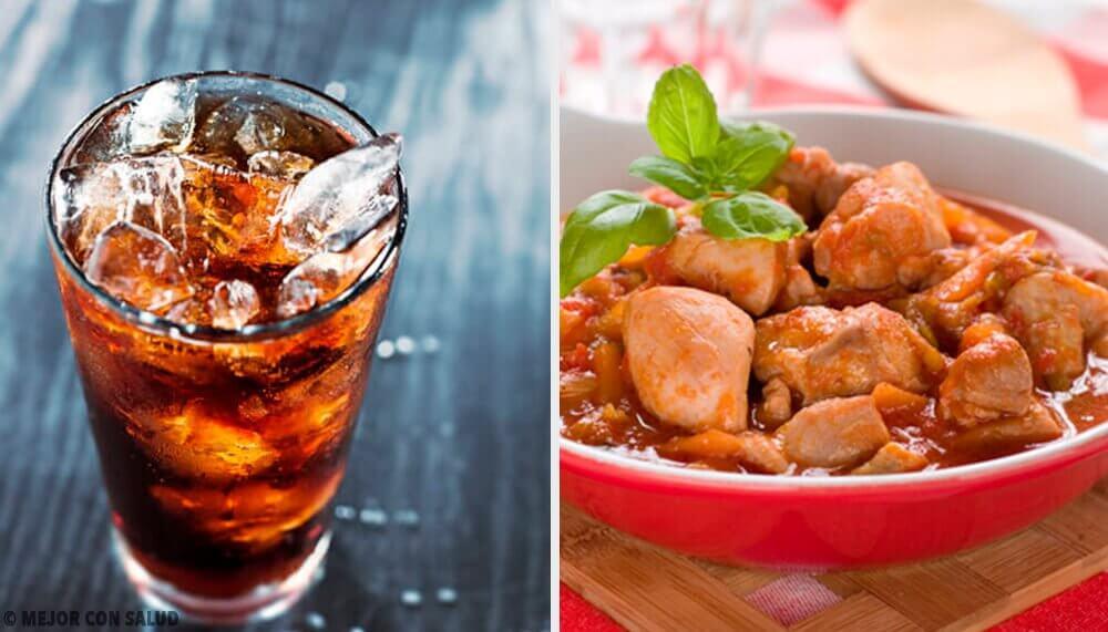 チキンのコーラ煮2選