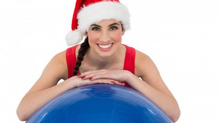 サンタ帽をかぶった女性 高血糖