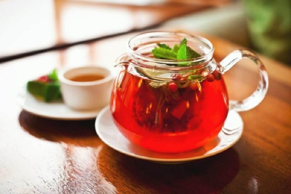 お茶を使う自然療法