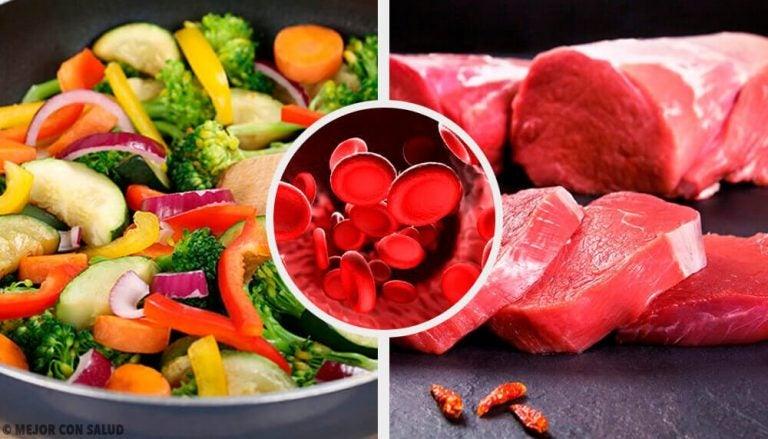ヘモグロビン濃度を正常にさせる食材