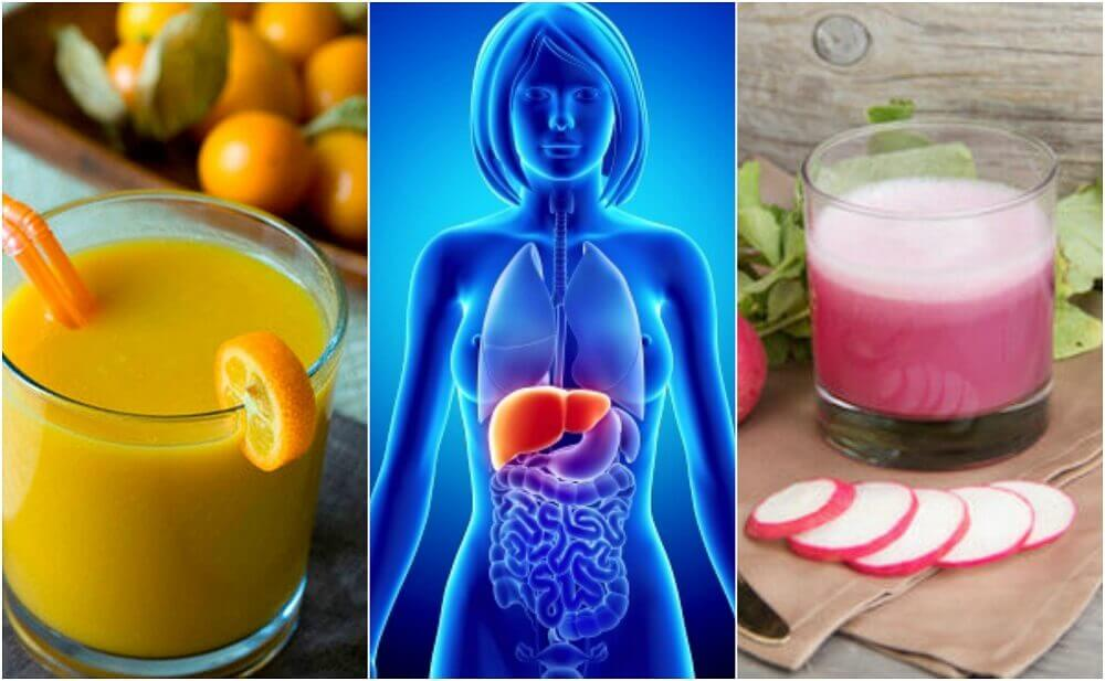 脂肪肝を予防する5つのヘルシードリンク