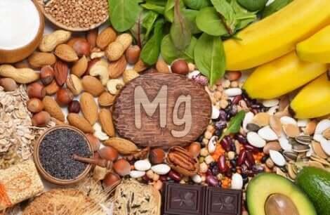 マグネシウムを含む食品