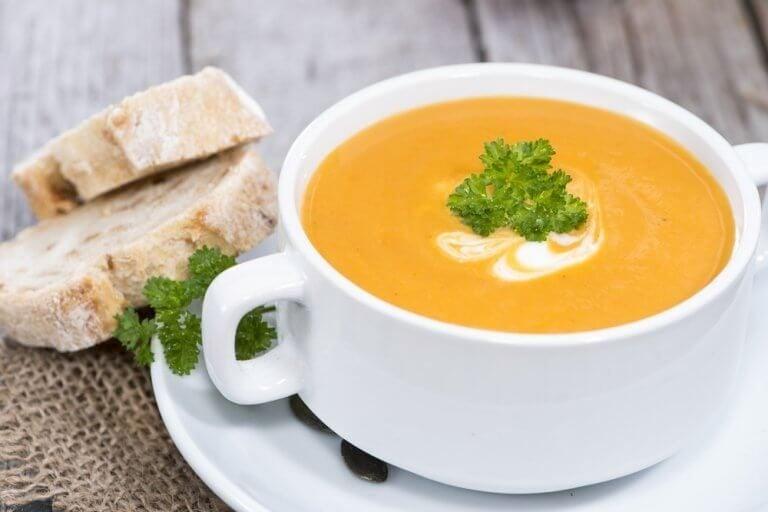 一番ヘルシーなクリーミー野菜スープは?