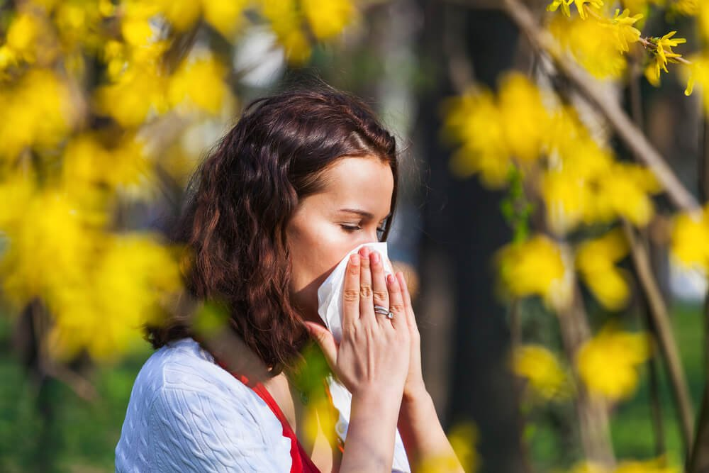 季節のアレルギー