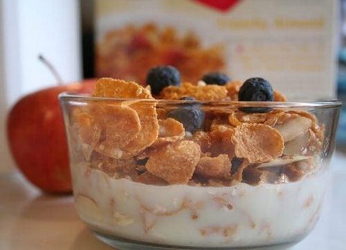 空腹にはしっかり朝食