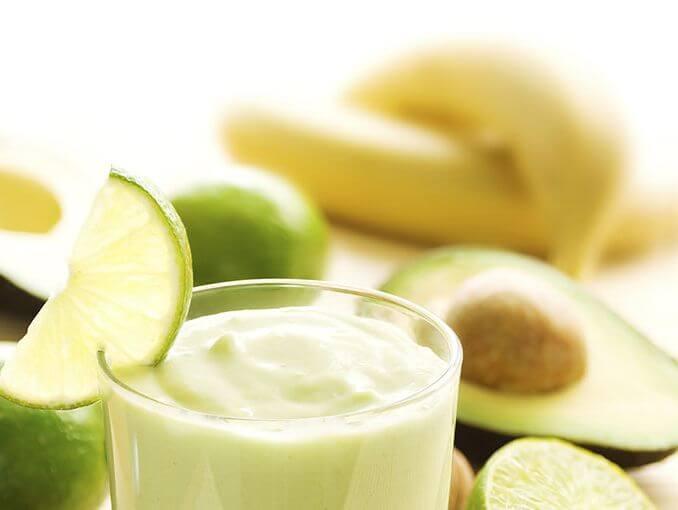 アボカドバナナジュース