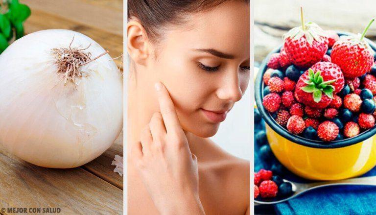 あなたの肌にコラーゲンを与えてくれる8つの食材