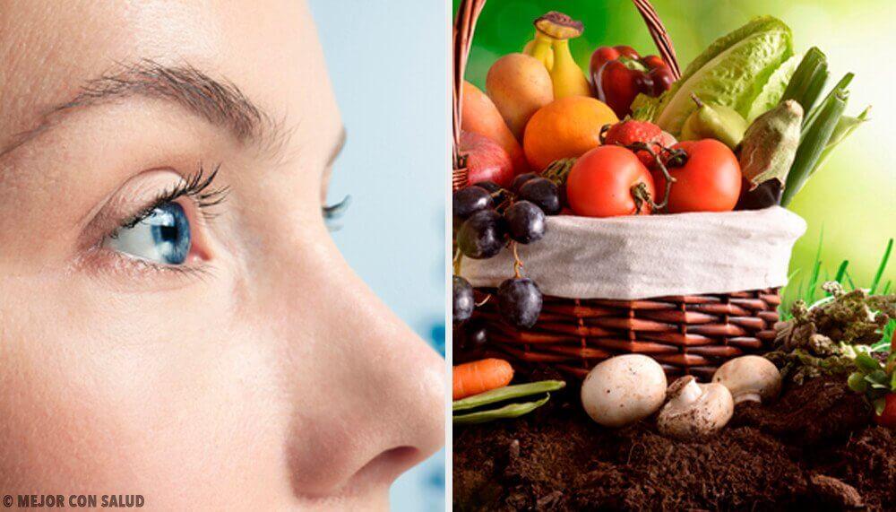視力を保つ10の食べ物