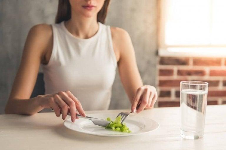 バランスの悪い食生活