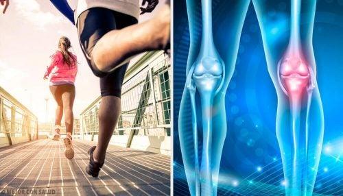 膝の痛みの原因となる悪習慣