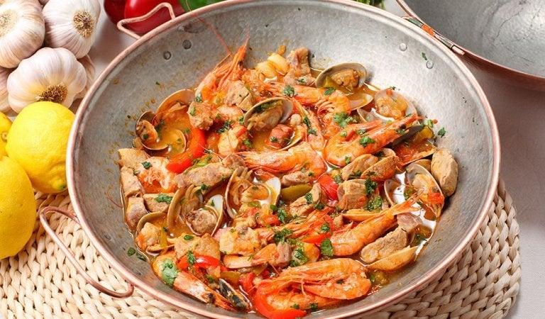 魚介のパエリア 炎症の時に避けたほうがいい食材