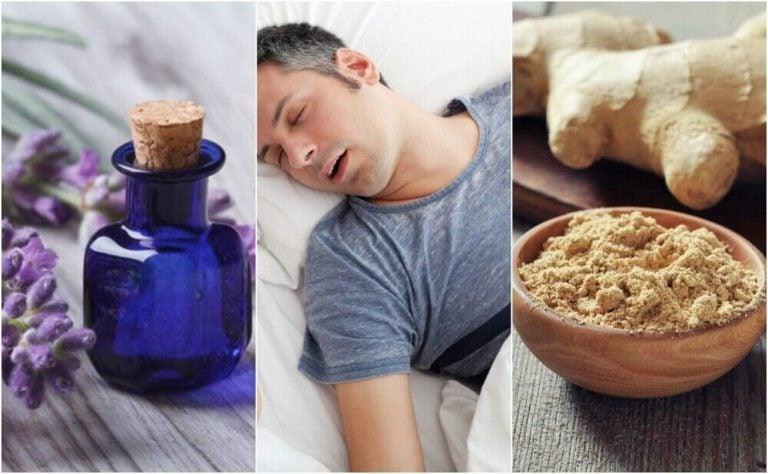 睡眠時無呼吸と闘う5つの天然療法
