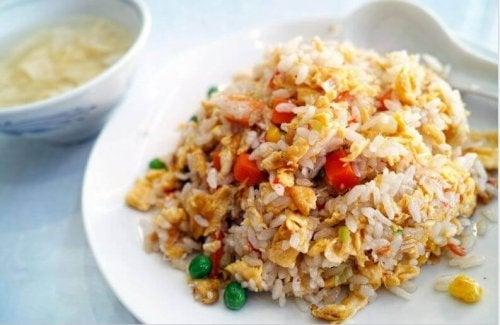 お米を使った中華レシピ