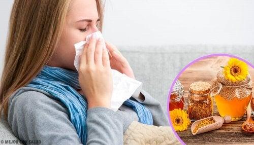 風邪やインフルエンザの初期症状に効果的なプロポリス