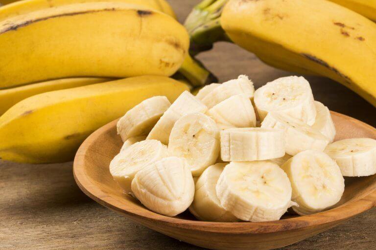 バナナの輪切り