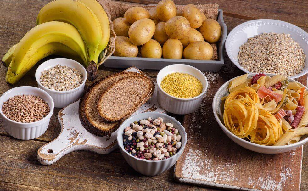 炭水化物の多い食品
