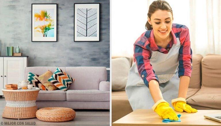 家がいつもきちんと整頓されているようにする習慣5選