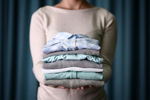 洗濯もの 整頓