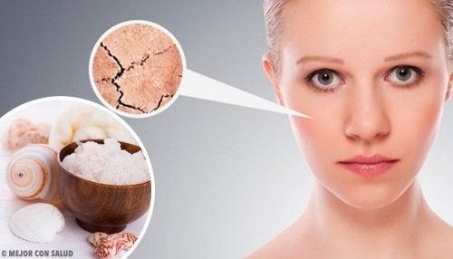 乾燥した皮膚を取り除く5つの自然療法
