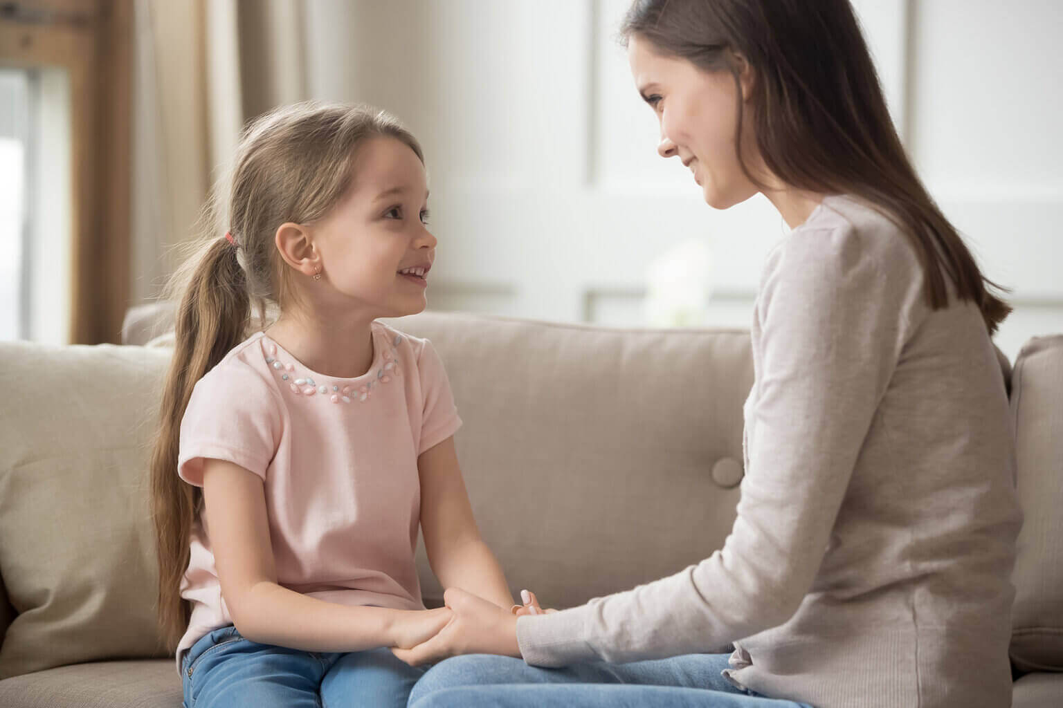 母親と娘の会話