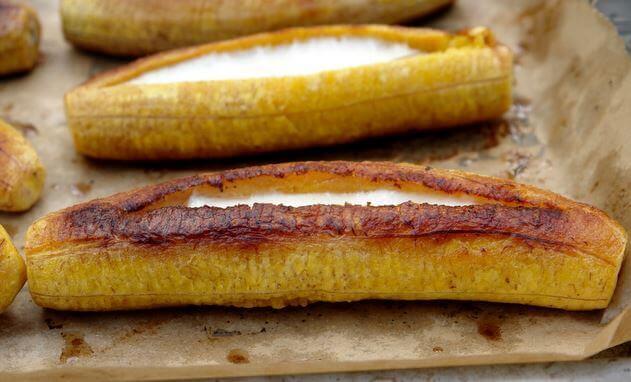 バナナ切れ込み