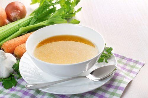 野菜スープ 吐き気を抑える