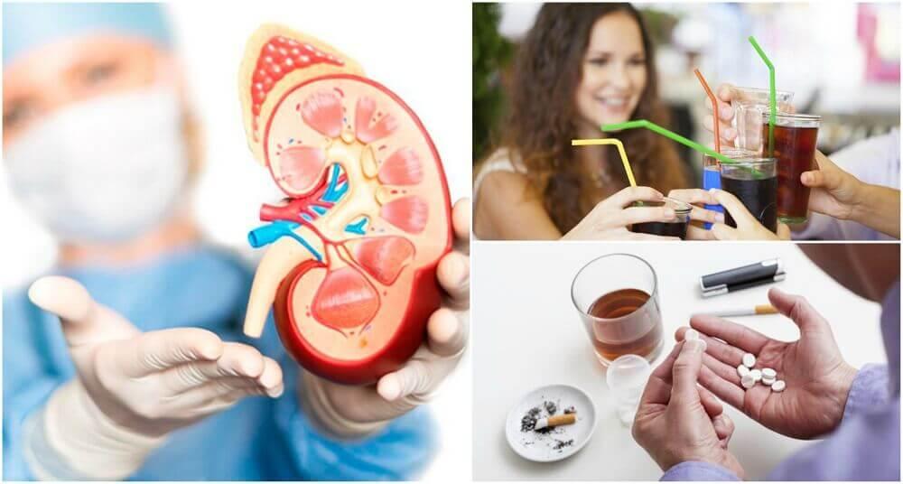 腎障害につながる8つの悪習慣