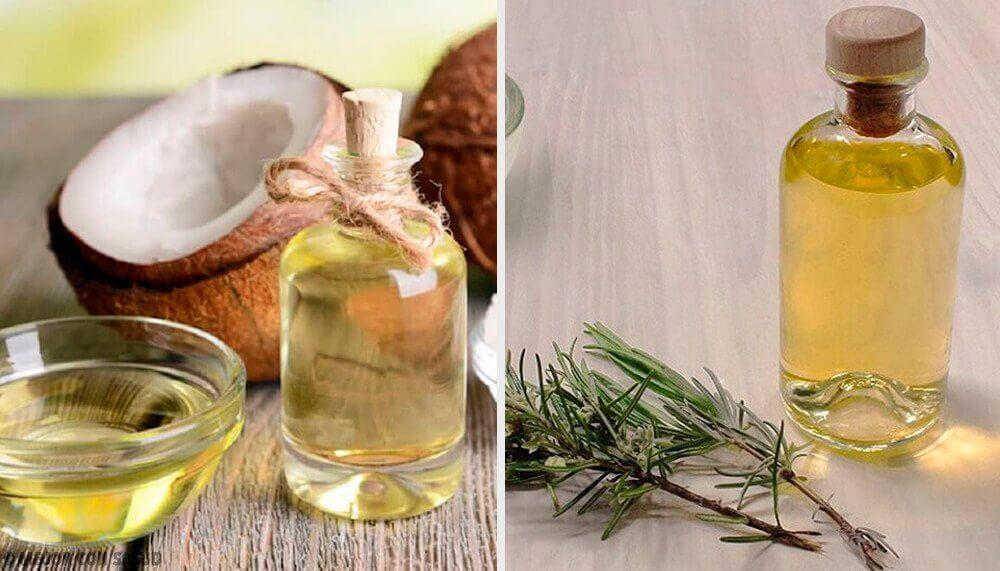ココナッツ、グレープフルーツ、ローズマリーオイルで作るスリミングローション