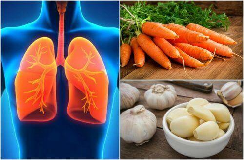 肺の健康を改善する7つの食品