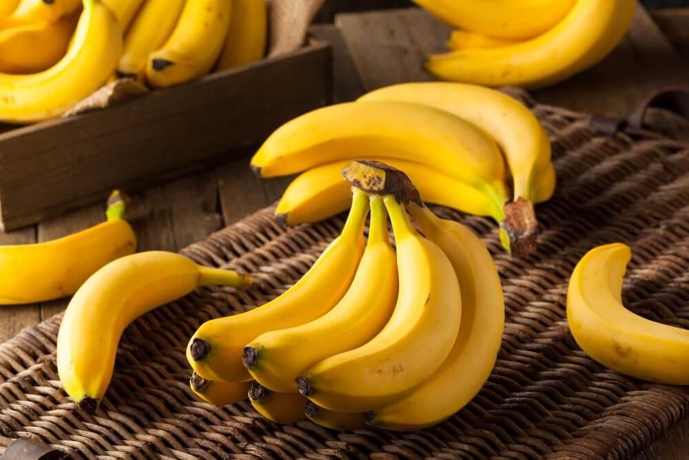 バナナ ヘルシー朝食 パンケーキ
