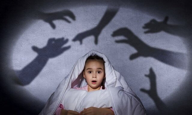 子供の恐怖心を取り除くために