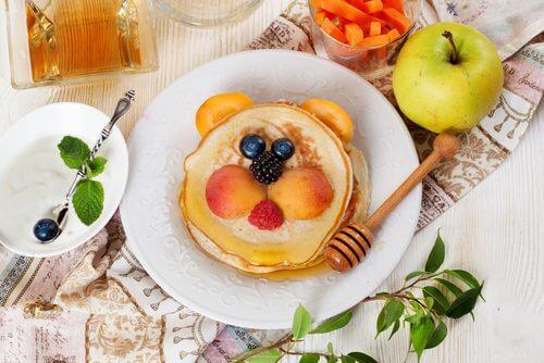 パンケーキ 低カロリーな朝食