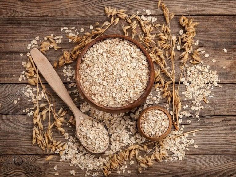 オーツ麦 乾燥肌を保湿
