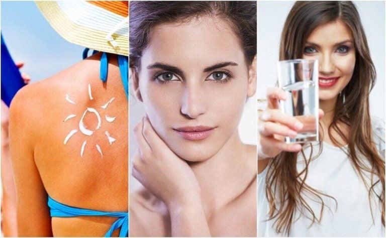 お肌の早期老化を防ぐ6つの習慣