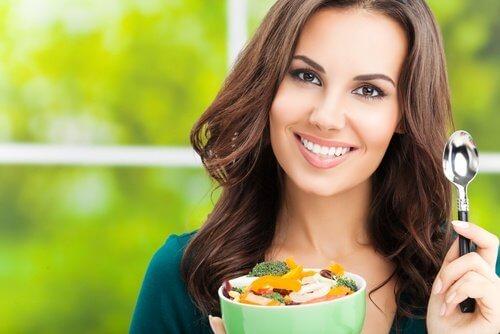 健康な食事 雑誌のボディ