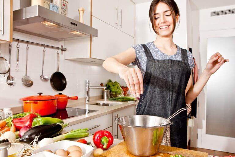 野菜を調理