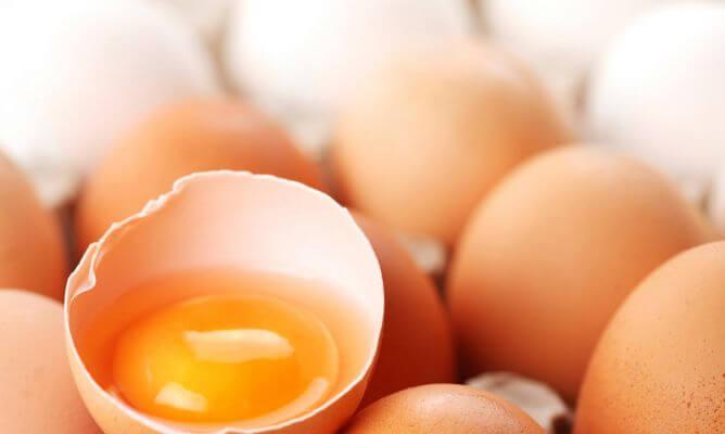 卵黄 乾燥肌を保湿